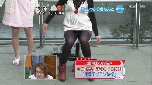 【TVキャプチャ】芸能人・女子アナのデルタゾーンパンチラエロ画像 32枚 No.3
