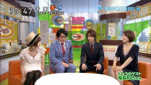 【TVキャプチャ】芸能人・女子アナのデルタゾーンパンチラエロ画像 32枚 No.4