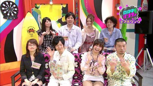 【TVキャプチャ】芸能人・女子アナのデルタゾーンパンチラエロ画像 32枚 No.14
