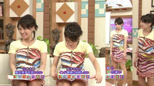 【TVキャプチャ】芸能人・女子アナのデルタゾーンパンチラエロ画像 32枚 No.18