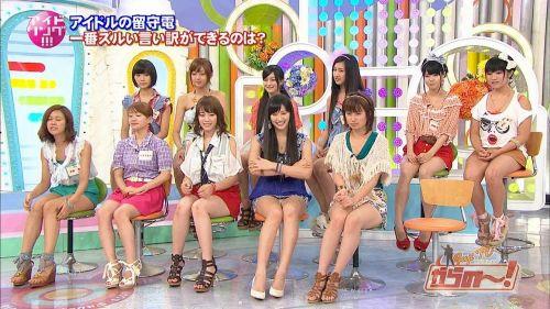 【TVキャプチャ】芸能人・女子アナのデルタゾーンパンチラエロ画像 32枚 No.19