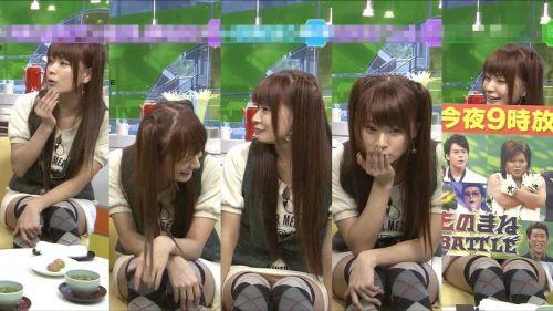 【TVキャプチャ】芸能人・女子アナのデルタゾーンパンチラエロ画像 32枚 No.21