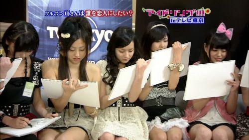【TVキャプチャ】芸能人・女子アナのデルタゾーンパンチラエロ画像 32枚 No.22