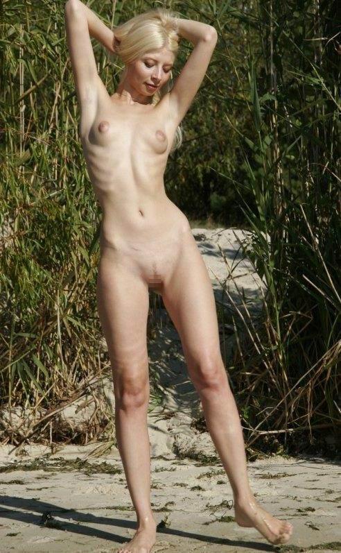 貧乳なちっぱいでガリッガリなスレンダー女子のエロ画像まとめ 34枚 No.30