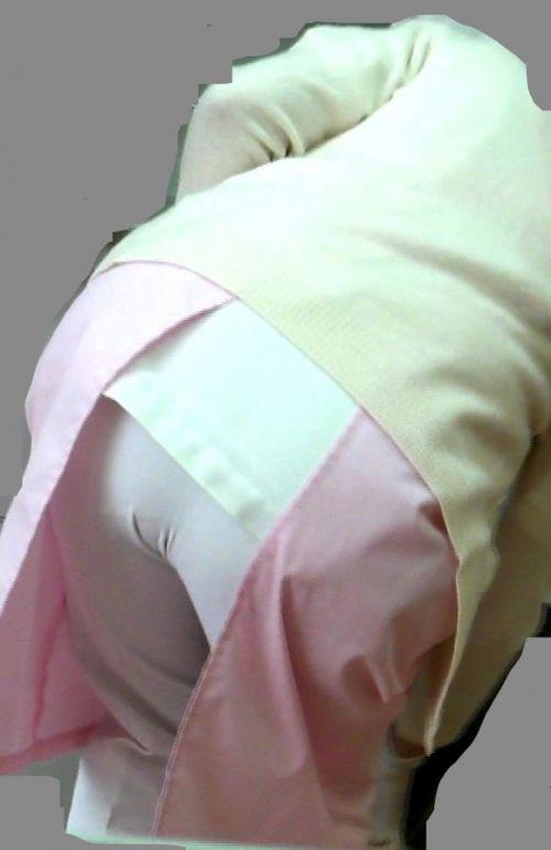 パンティラインが浮き出ちゃう看護師さんのお尻を盗撮したエロ画像 31枚 No.9