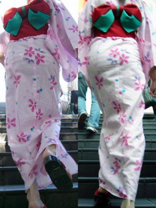 【画像】浴衣の上からパンティが透けたまま普通に歩くギャル達www 39枚 No.19