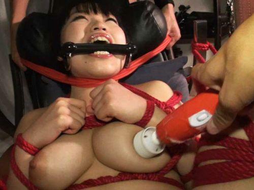 ロープで首を絞めてアヘ顔や白目をムイちゃうドM女のセックスエロ画像 32枚 No.1