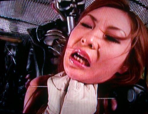 ロープで首を絞めてアヘ顔や白目をムイちゃうドM女のセックスエロ画像 32枚 No.8