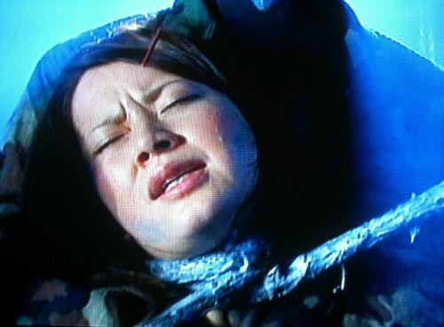 ロープで首を絞めてアヘ顔や白目をムイちゃうドM女のセックスエロ画像 32枚 No.11
