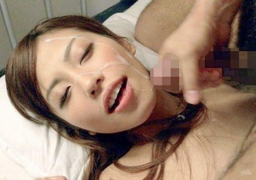 綺麗なお姉さんの顔を精液まみれにする顔射ぶっかけエロ画像 36枚 No.24