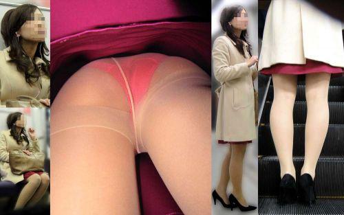 OLさんのタイトスカートの狭い隙間から逆さ撮りしたエロ画像 37枚 No.6