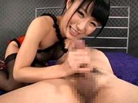 【原千草】ソッコー暴発した早漏M男を濃厚な乳首舐め手コキで連続射精させる痴女