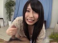 有村千佳 最高級に可愛い黒髪美少女がパイズリとベロチュー手コキで責めて男潮を吹かせちゃう!