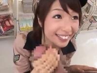 スレンダー痴女ポリス 誘惑手コキフェラ!川上奈々美