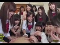 集団JK ハーレム中出しクラス会!