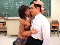 3者面談でM男教師を痴女るのを父親に見せつける異常性欲のドSなJK 大塚ひな