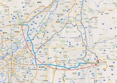 20151116吹田→奈良