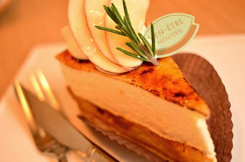 【ケーキ】ビヤンネートル「リンゴのシブースト」 (1)
