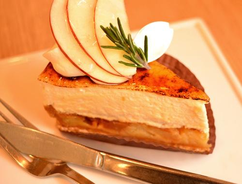 【ケーキ】ビヤンネートル「リンゴのシブースト」 (4)