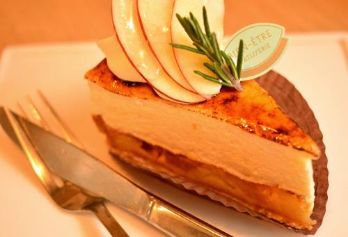 【ケーキ】ビヤンネートル「リンゴのシブースト」 (5)