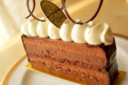 【ケーキ】シャンドワゾー「ムース・オ・ショコラ トンカ」 (2)
