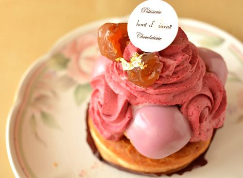 【ケーキ】シャンドワゾー「サントノーレカシス」 (4)