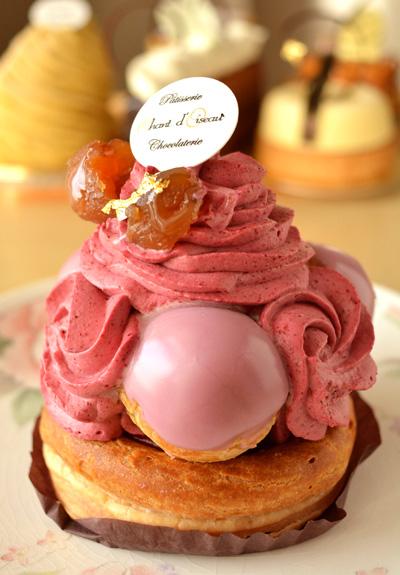 【ケーキ】シャンドワゾー「サントノーレカシス」 (2)