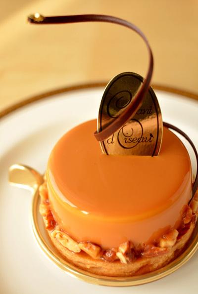 【ケーキ】シャンドワゾー「タルト・キャラメルサレ」 (2)