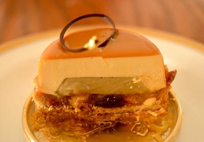 【ケーキ】シャンドワゾー「タルト・キャラメルサレ」 (3)