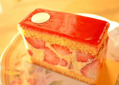 【ケーキ】リョーコ「フレジエ」 (1)