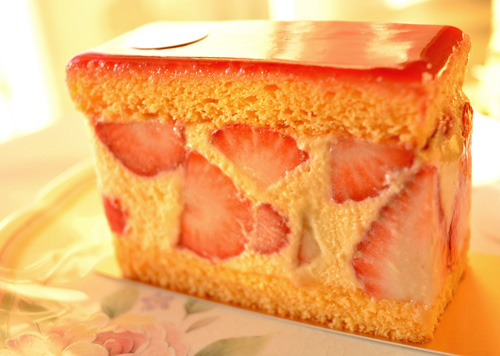 【ケーキ】リョーコ「フレジエ」 (2)