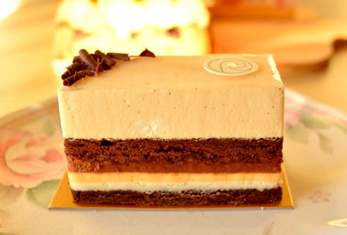 【ケーキ】リョーコ「ショコラバニーユ」