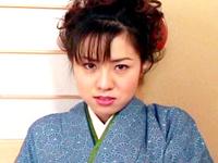 【無修正】着物美人 千夏さんのサービス 中野千夏