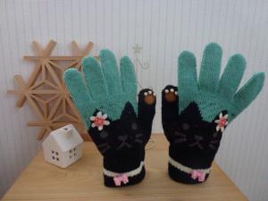ネコの手袋1118
