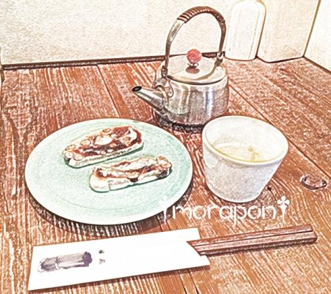 151119 お茶とお菓子 横尾-2