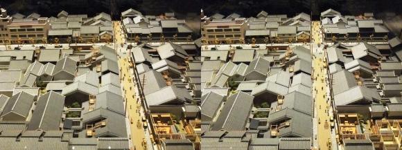 「大阪くらしの今昔館」モダン大阪 パノラマ遊覧 北船場②(平行法)