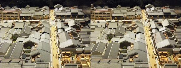「大阪くらしの今昔館」モダン大阪 パノラマ遊覧 北船場②(交差法)