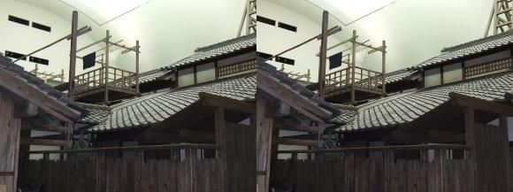 「大阪くらしの今昔館」なにわ町家の歳時記⑳(交差法)