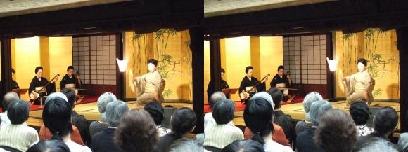 「大阪くらしの今昔館」山村流地歌舞「露の蝶」(平行法)