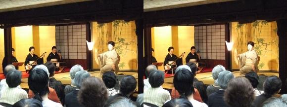 「大阪くらしの今昔館」山村流地歌舞「露の蝶」(交差法)
