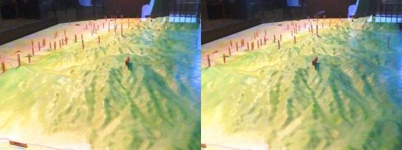 トレイル青垣 山の辺の道模型(平行法)