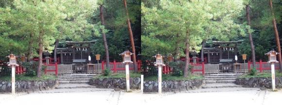 大神神社 摂社 桧原神社②(平行法)