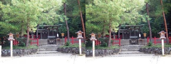 大神神社 摂社 桧原神社②(交差法)
