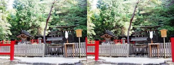 大神神社 摂社 桧原神社①(交差法)