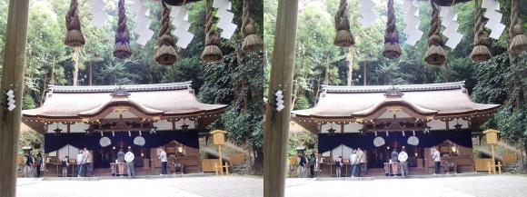 大神神社 摂社 狭井神社②(平行法)