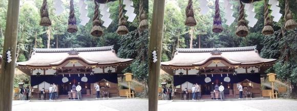 大神神社 摂社 狭井神社②(交差法)