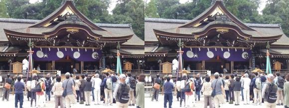大神神社 拝殿②(平行法)
