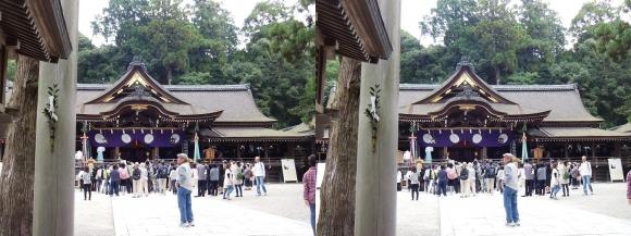 大神神社 拝殿①(平行法)