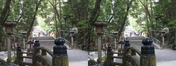 大神神社 参道①(平行法)