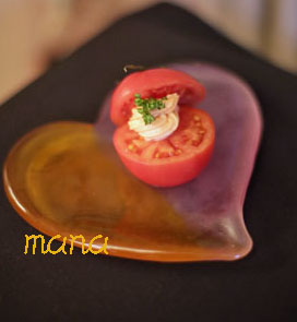 サーモン トマト
